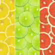 Abstract background of citrus slices — Stock Photo #37491861