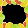 Abstract background of citrus slices — Stock Photo #37492733