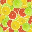 Abstract background of citrus slices — Stock Photo #37496199