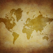 Map world on paper background Style Grunge — Stock Photo #37496377