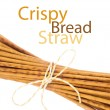 Foto Stock: Crispy bread straw