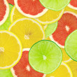 Abstract background of citrus slices — Stock Photo #37498895