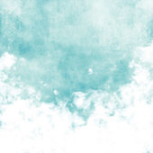 Grunge image of blue sky. — Stock Photo