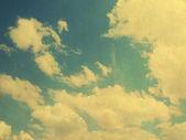 曇り空のレトロなイメージ — ストック写真