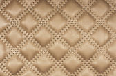 Sepia picture of genuine leather upholstery — Stock Photo