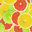 Abstract background of citrus slices — Stock Photo #37500113