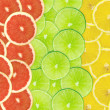 Abstract background of citrus slices — Stock Photo #37500477