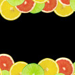 Abstract background of citrus slices — Stock Photo #37501399