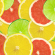 Abstract background of citrus slices — Stock Photo #37504293
