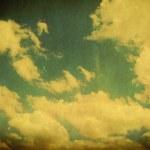 Retro Sky — Stock Photo