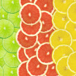 Abstract background of citrus slices — Stock Photo #37506821