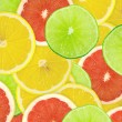 Abstract background of citrus slices — Stock Photo #37508987