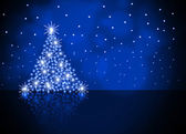 The best Christmas tree background — Stock Photo