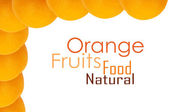 Orangefarbenen hintergrund — Stockfoto