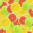 Abstract background of citrus slices — Stock Photo #37513349