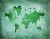 レトロな世界地図 — ストック写真