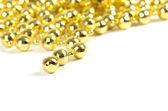 Background made of a brilliant celebratory beads — Stock Photo