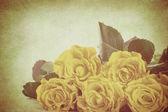 复古花 — 图库照片