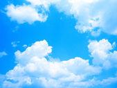 Fundo de céu azul — Fotografia Stock