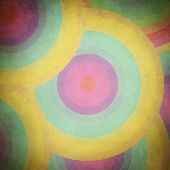 Multicolor grunge background. A vintage poster. — Stock Photo