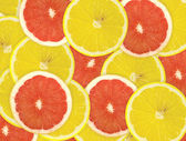 Abstract background of citrus slices. — Stock Photo