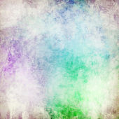 Colorful painted vintage background — 图库照片