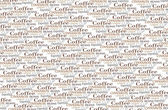 Coffee words background — Stock Photo