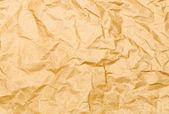 Viejo papel arrugado — Foto de Stock