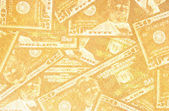 Close up of abstract US dollar — Stock Photo