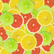 Abstract background of citrus slices — Stock Photo #37530007