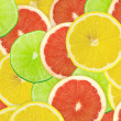 Abstract background of citrus slices — Stock Photo #37530473