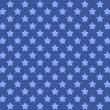 Decorative seamless stars background — Stock Photo