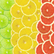 Abstract background of citrus slices — Stock Photo #37531393