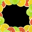Abstract background of citrus slices — Stock Photo #37531529