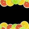 Abstract background of citrus slices — Stock Photo #37531711