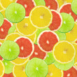 Abstract background of citrus slices — Stock Photo #37536795