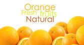 Frischen orangen — Stockfoto