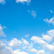 Beautiful sparse clouds in the blue sky — Stock Photo #39004855