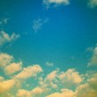 Beautiful sparse clouds in the blue sky — Stock Photo #39007175