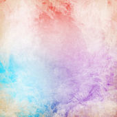 Colorful painted vintage background — Stockfoto