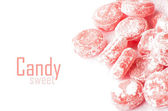 Candy isolated on white — Stock Photo