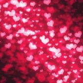 Sevgiliye arka plan tasarımı için soyut kızdırma yumuşak kalpler. — Stok fotoğraf