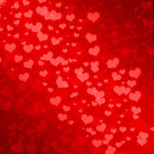 Abstract Glow Soft Hearts for Valentines Day Background Design.  — Stock Photo