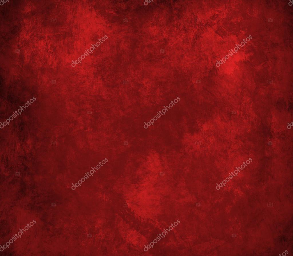 抽象的红色背景或圣诞节背景与明亮的中心焦点和黑色