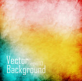 Grunge vector background with space for text or image — ストックベクタ