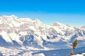 Panorama van de Alpen — Stockfoto