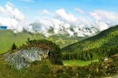 Alps landscape — Stock Photo