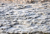 Geological bedrock — Stock Photo