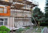 Renovation of house — Stock Photo