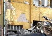 Demolition of building — Stock Photo